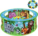 Sunny Days Entertainment Zoo Adventure Ball Pit – Indoor Pop Up
