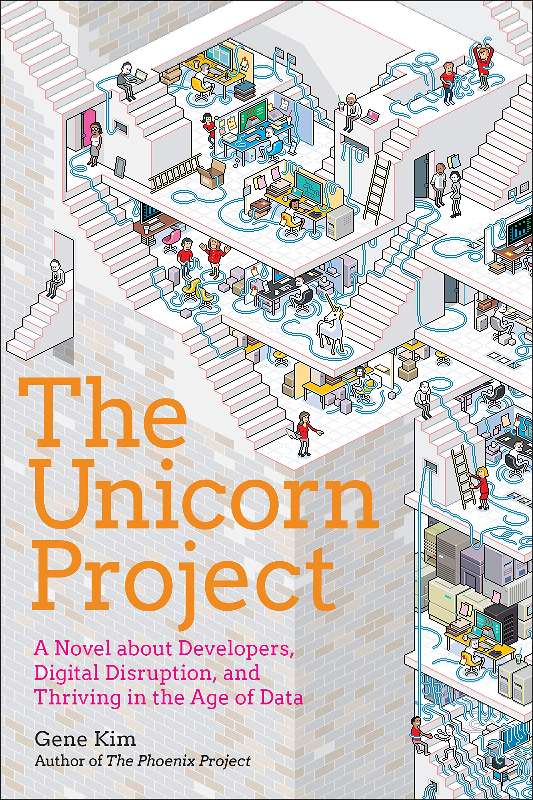 The Unicorn Project: A Novel about Developers, Digital Disruption, and Thriving in the Age of Data by IT Revolution Press