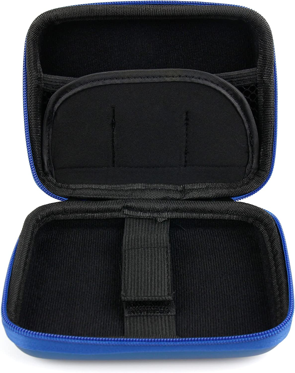 DURAGADGET Hard Shell EVA Box-Style Case in Black Compatible with Canon Powershot ELPH 360 HS Powershot ELPH 180 /& Powershot ELPH 190 is Powershot ELPH 300