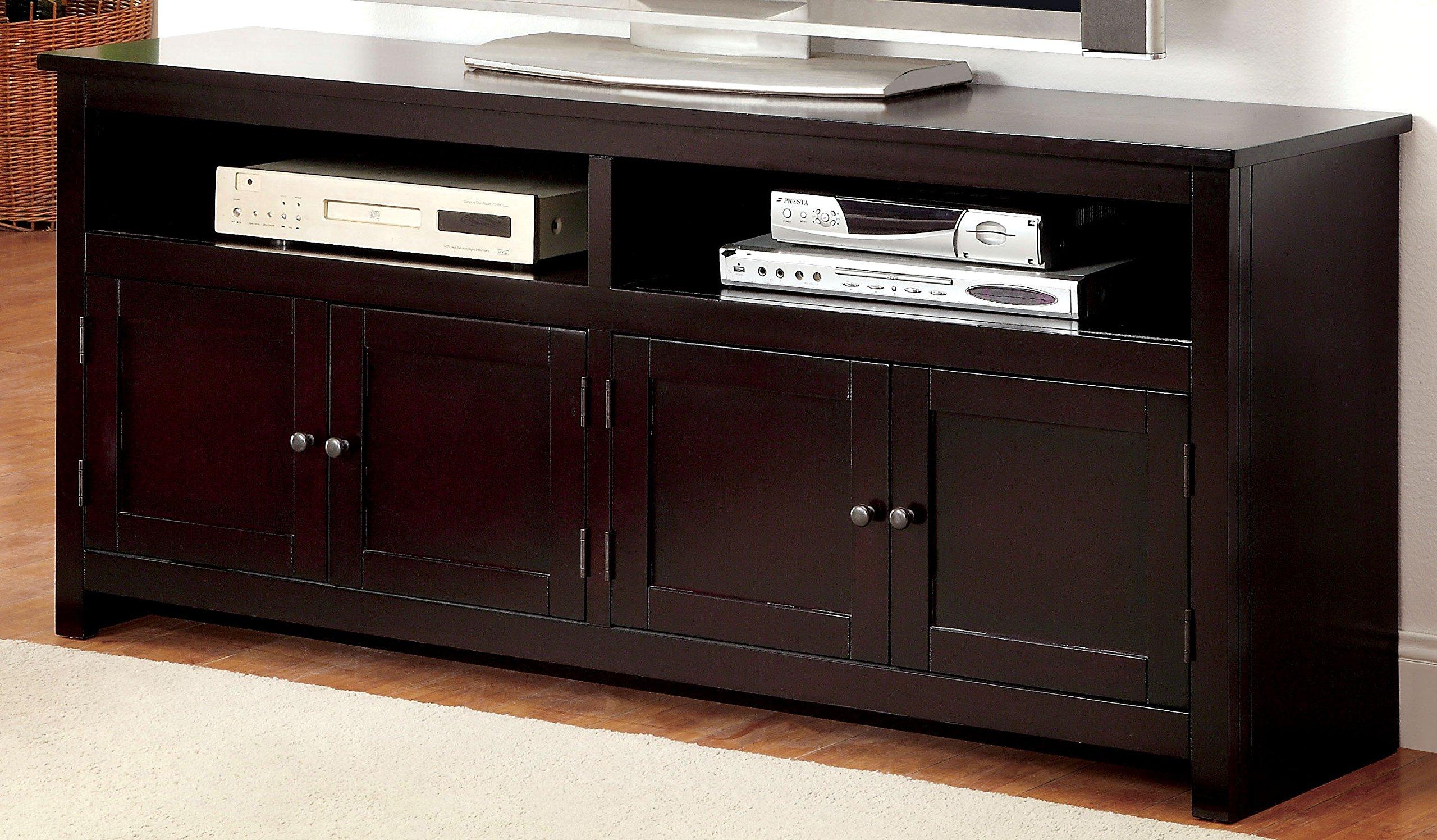 Furniture of America Merina Transitional TV Console, 60-Inch, Espresso