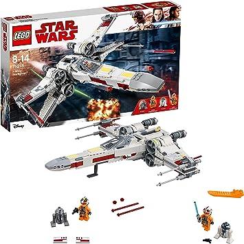 Comprar LEGO Star Wars - Caza Estelar Ala X, Juguete de La Guerra de las Galaxias de la Nave X Wing para Construir y Jugar, Incluye Minifiguras de Luke Skywalker, R2-D2 y R2-Q2 (75218)