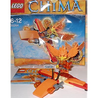 Legends of Chima Lego 30264 Frax's Phoenix Flyer: Toys & Games