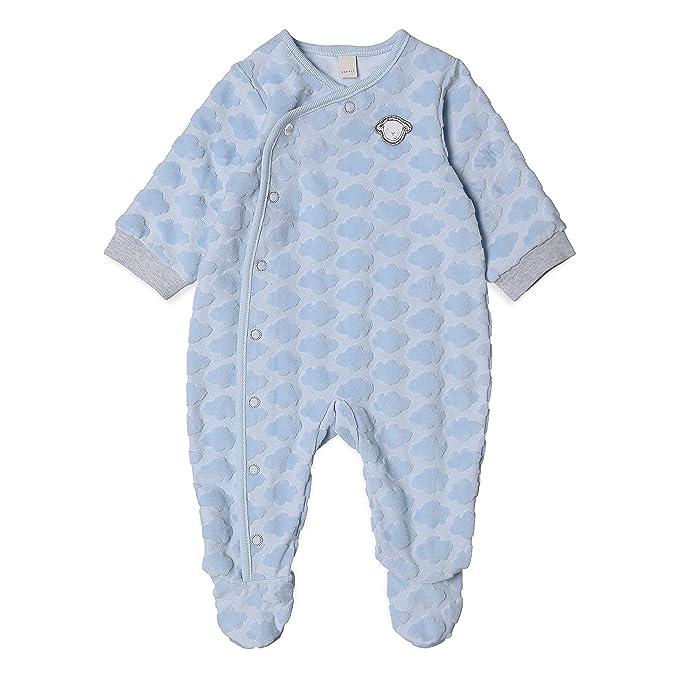 Esprit Kids RK55000, Pelele Unisex bebé, Blau (Pastel Blue 412), 6