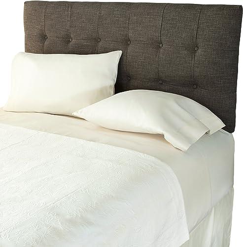 Humble Haute Davenport Textured Adjustable Upholstered Headboard