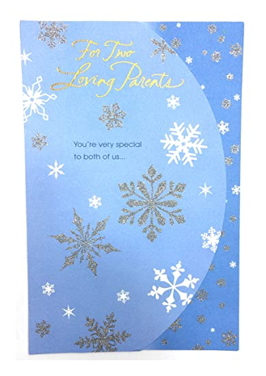 Amazon christmas cards for parentsfor two loving parents christmas cards for parentsfor two loving parentsamerican greetings ea m4hsunfo