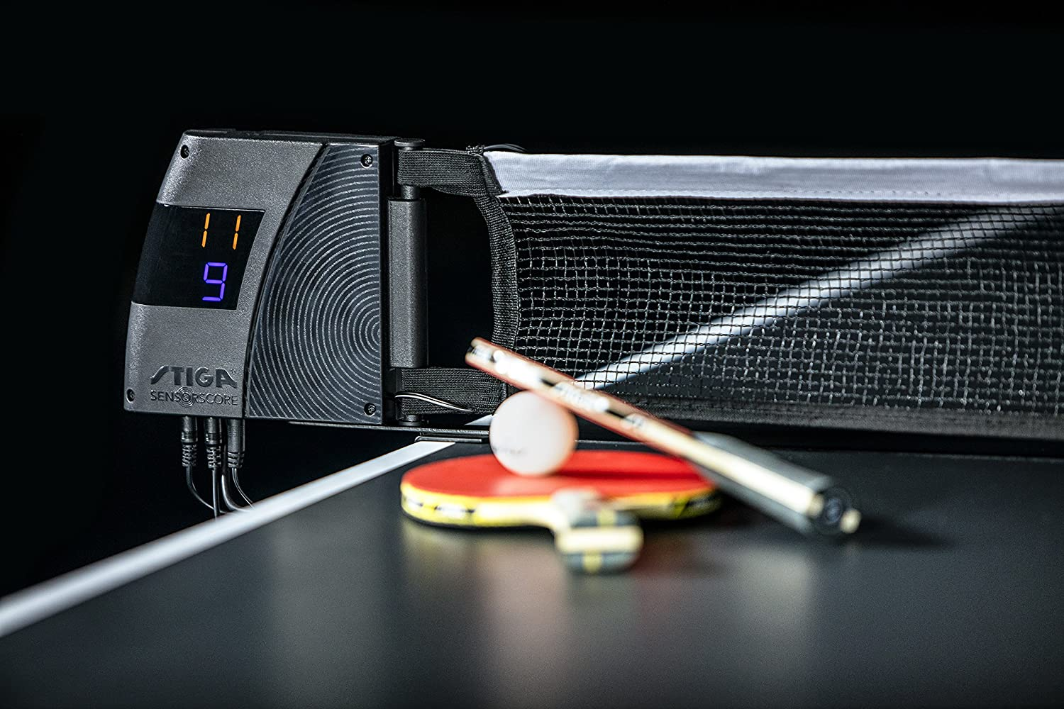STIGA SensorScore – The Only Fully-Automated Table Tennis Scoring System with Innovative Sensor Technology : Sports & Outdoors