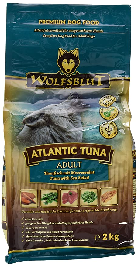 Wolf sangre Atlantic Tuna, 1er Pack (1 x 2 kg): Amazon.es ...