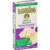 Annie's Organic Shells & White Cheddar Macaroni & Cheese 6 oz Box (Pack of 12)
