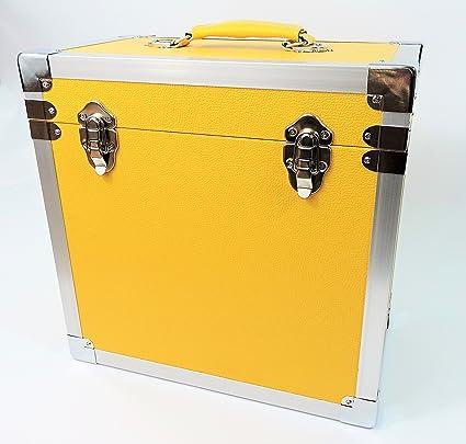 Steepletone - Caja de DJ para LPs y discos de vinilo, 30 x ...