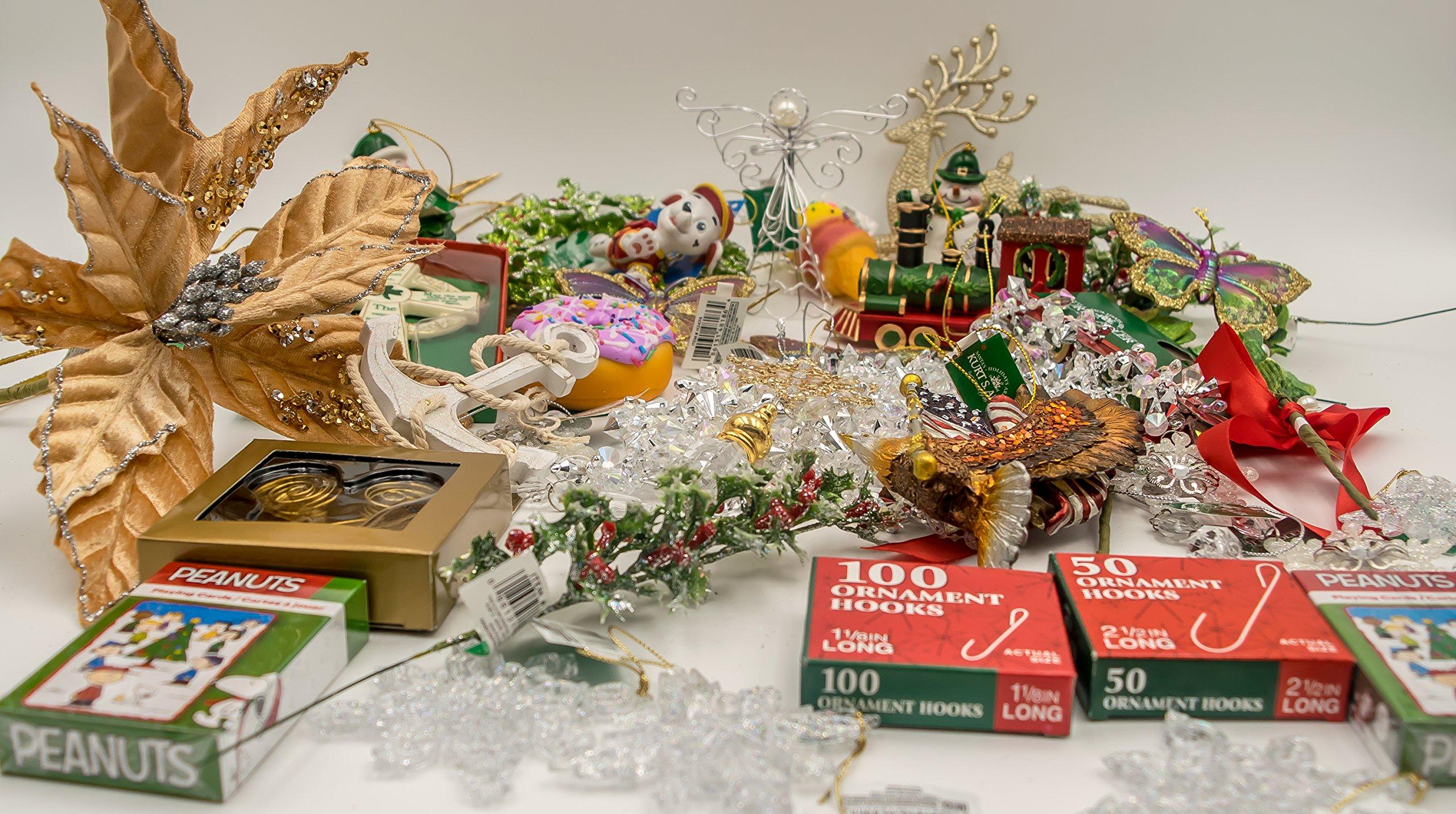 JZ Bundles Starter Set - Best of Christmas Option C - Kurt Adler - 37-Piece Bundle - A Bundle of Christmas Ornaments Great Gift by JZ Bundles (Image #5)