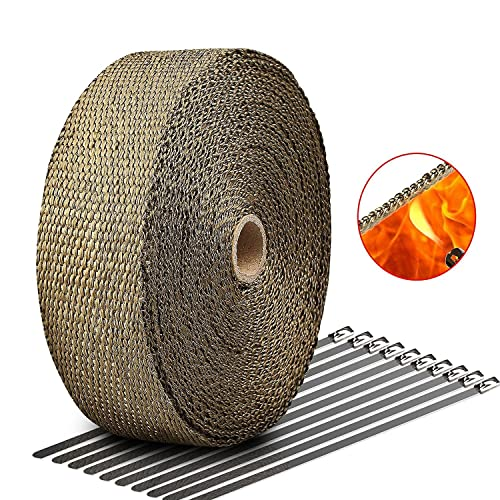 LIBERRWAY Exhaust Wrap Kit
