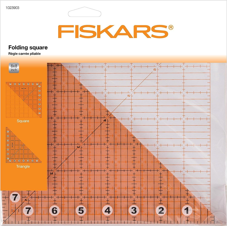 Fiskars R/ègle Acrylique 6 x 24 Id/éale pour le patchwork Formes vari/ées Quadrillage en pouces 1004743