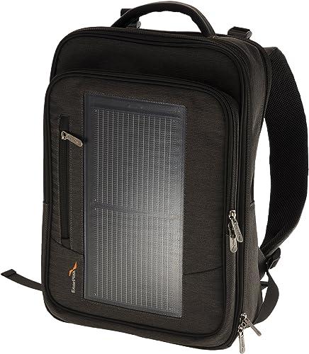 EnerPlex Packr Executive Solar Powered Backpack PREXECGY