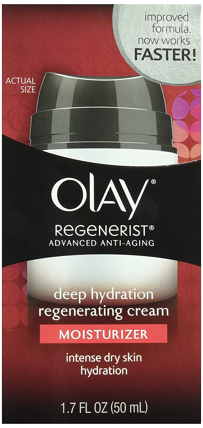 OLAY Regenerist Advanced Anti-Aging Deep Hydration Regenerating Cream 1.70 oz Pack of 2
