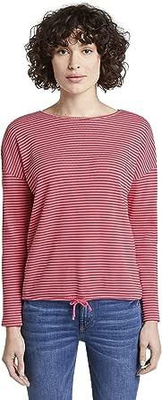 Tom Tailor Piqué T-Shirt Túnica para Mujer
