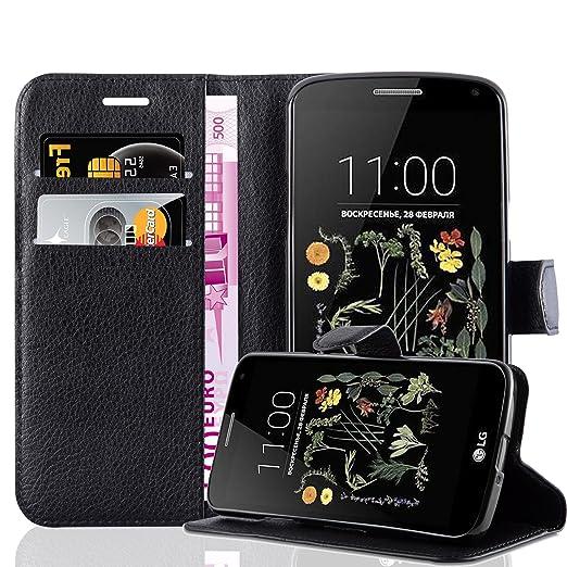 2 opinioni per Cadorabo- Custodia Book Style Design Portafoglio per LG K5 con Supporto Funzione