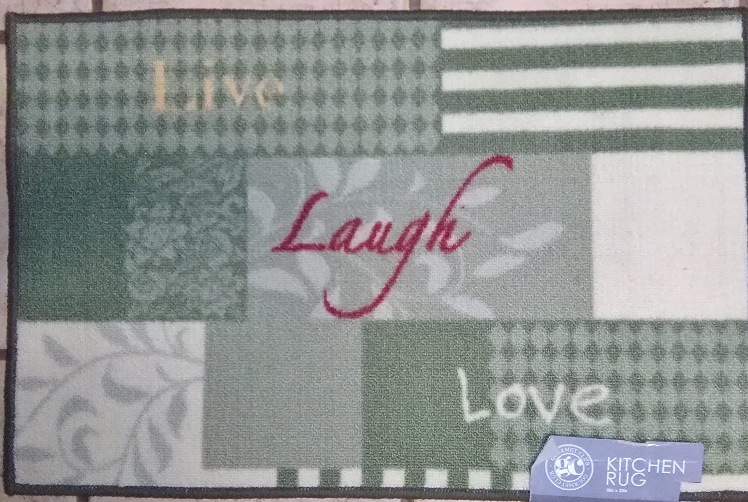 18 x 28 Inch Live Laugh Love Rug