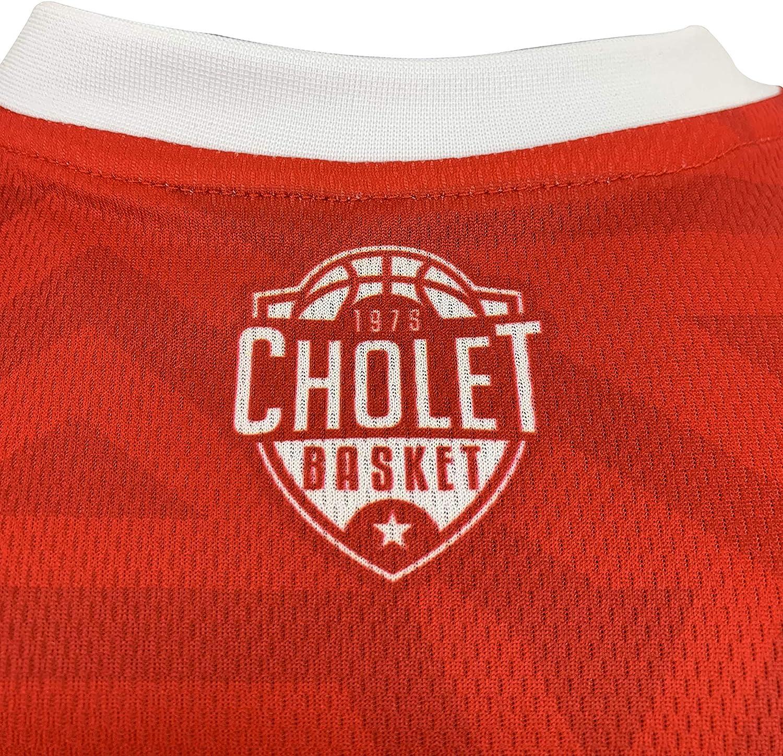 Cholet Maillot Officiel Ext/érieur 2019-2020 Basketball Enfant