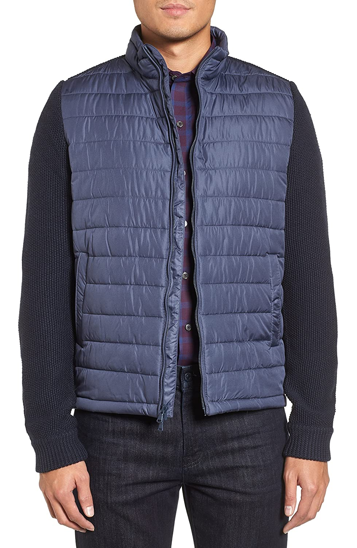 [ザッカリープレル] メンズ ジャケットブルゾン Zachary Prell Hinman Quilt Front Merino [並行輸入品] B07C3H91MJ Small