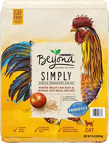 Purina Beyond Simply Natural, Adult Dry Cat Food Toppers