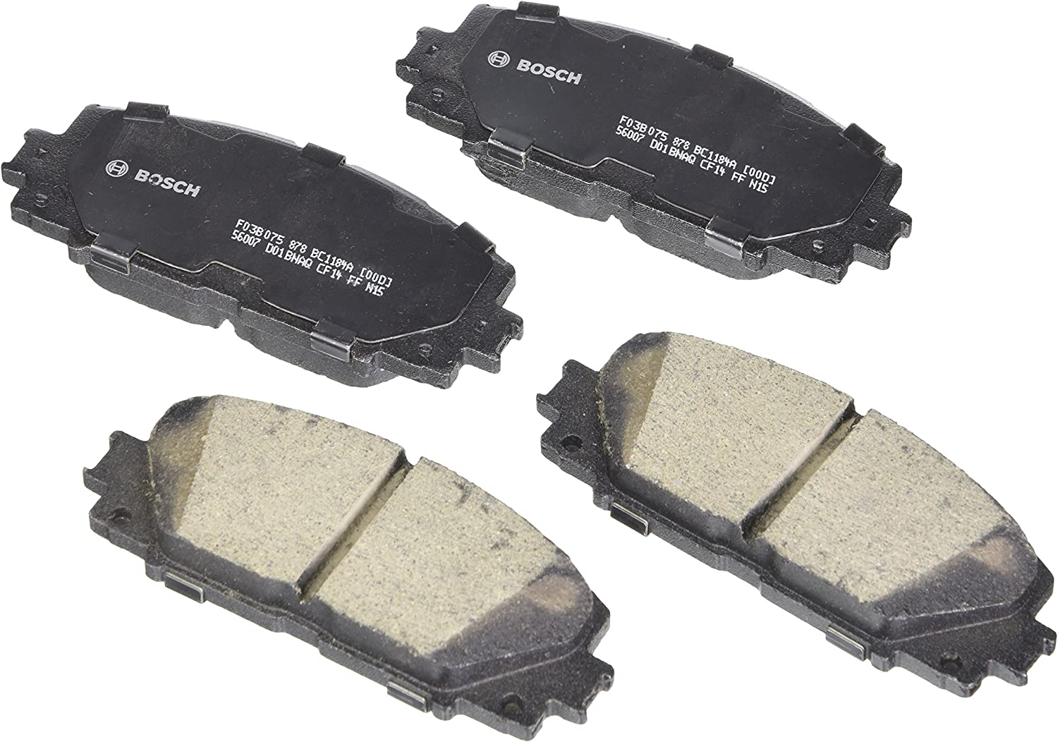 xB Matrix REAR Brake pad for CT 200h Prius CERAMIC Vibe tC Corolla