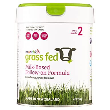 certified grass fed cows milk infant baby formula baby food stage 2 6