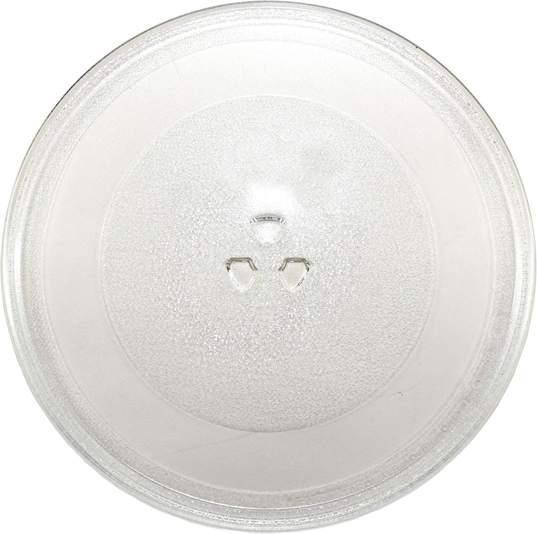HQRP 12-inch Glass Turntable Tray fits Whirlpool W10337247 W11367904 AMV1150VAD3 AMV2174VAD6 GMH6185XVB3 IMH15XVQ4 MMV1164WW4 WMH1163XVB5 WMH2175XVB5 WMH31017AB0 Microwave Oven Cooking Plate 305mm