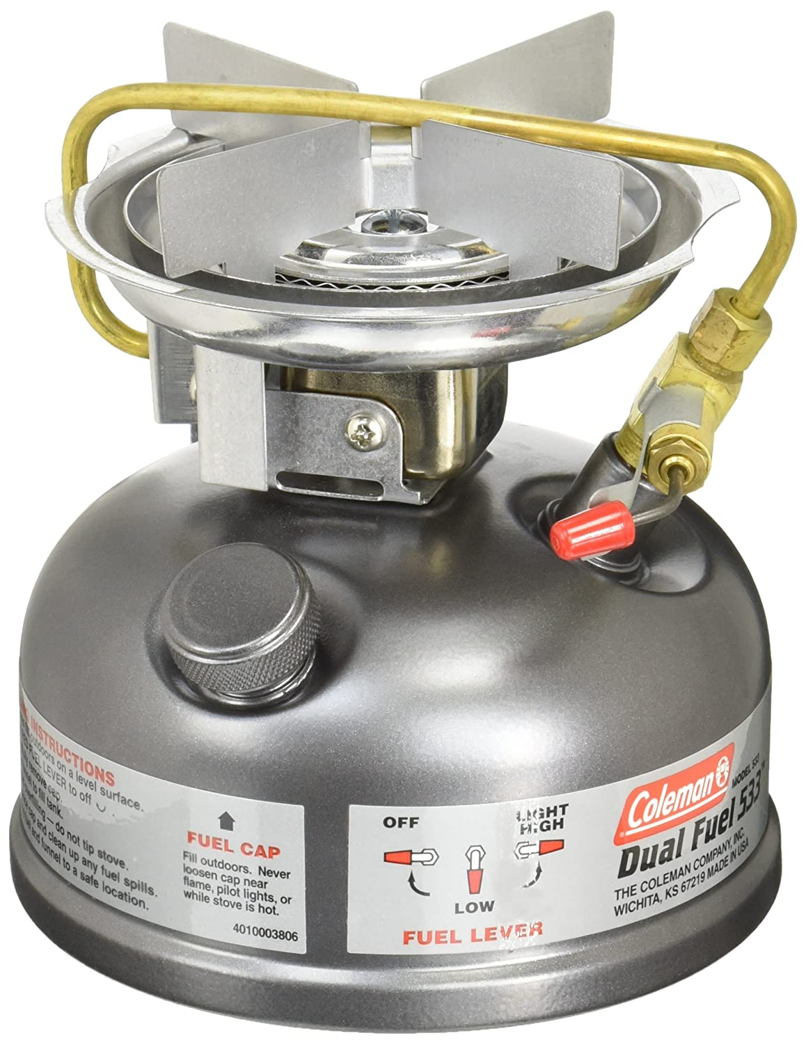 Amazon.com : Coleman Guide Series Compact Dual Fuel Stove, Coleman ...