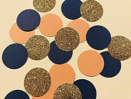 815e8977956 Amazon.com  Designs by DH Confetti 100 Pieces Paper Circles Rose ...