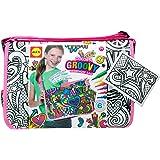 ALEX Toys Color a Bag & Accessories, Color a Groovy Messenger Bag