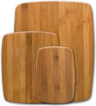 Farberware 5070344 Bamboo Cutting Board, Set of 3