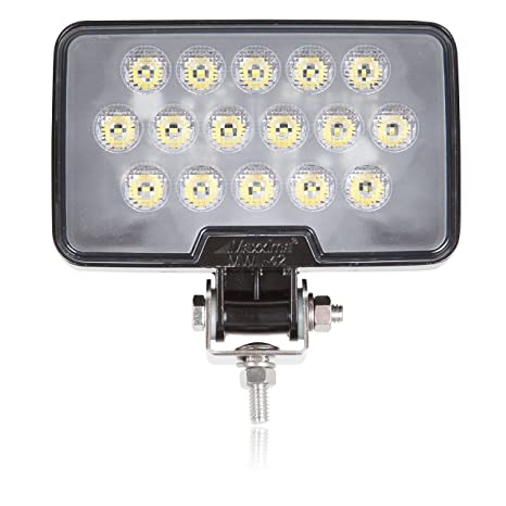 Maxxima Mwl 42 Black Rectangular 16 Led Work Light 2 100 Lumens