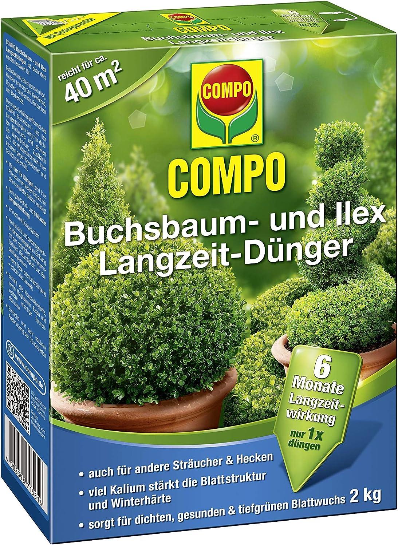 Compo Boj de y Ilex largo tiempo de Abono 2 kg: Amazon.es: Jardín