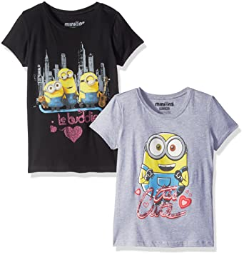 Unisex Clothing Despicable Me Minions Grey Awesome T-shirt Youth Size Large Beautiful And Charming