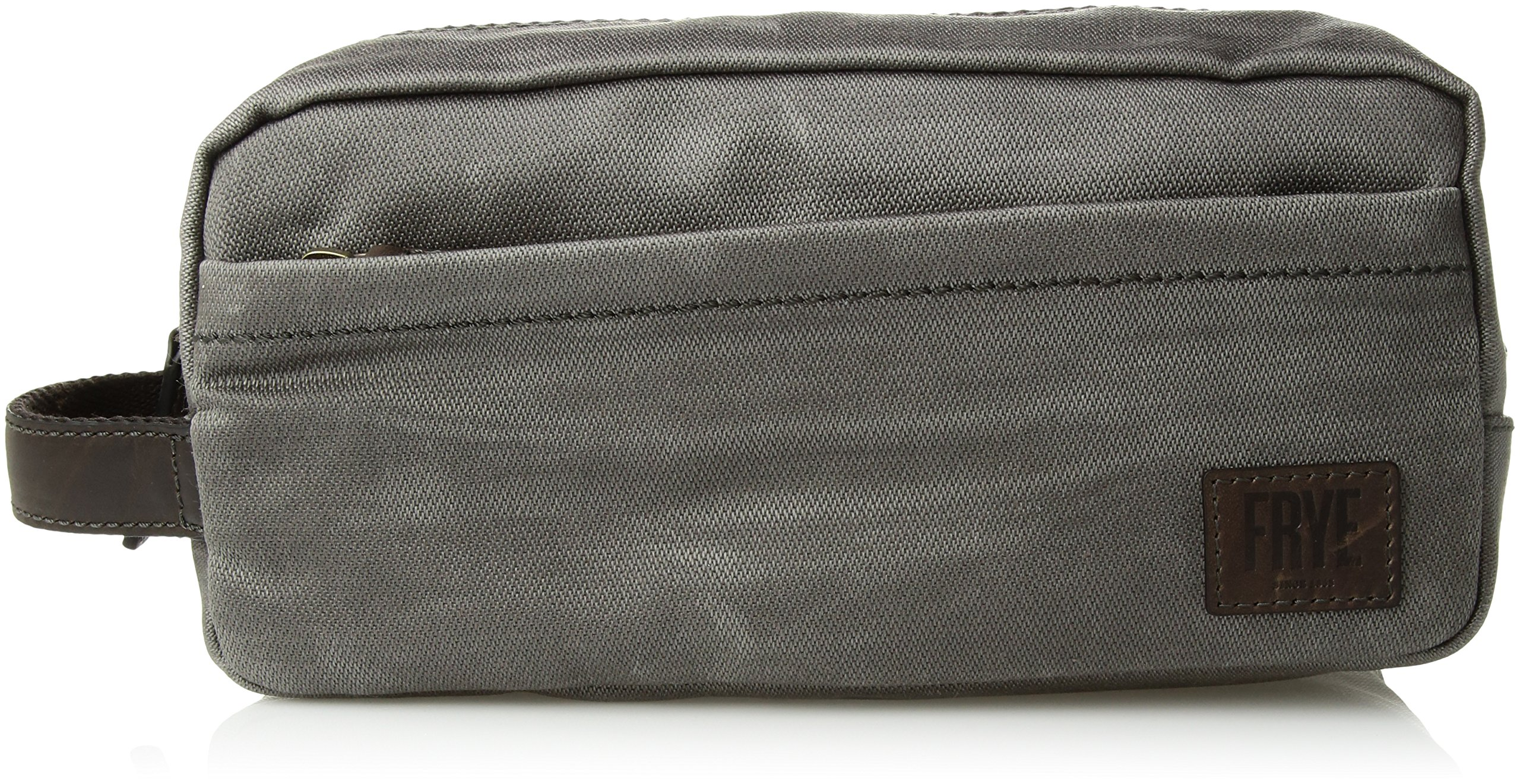 FRYE Men's Carter Dopp Kit, Slate, ONE SIZE