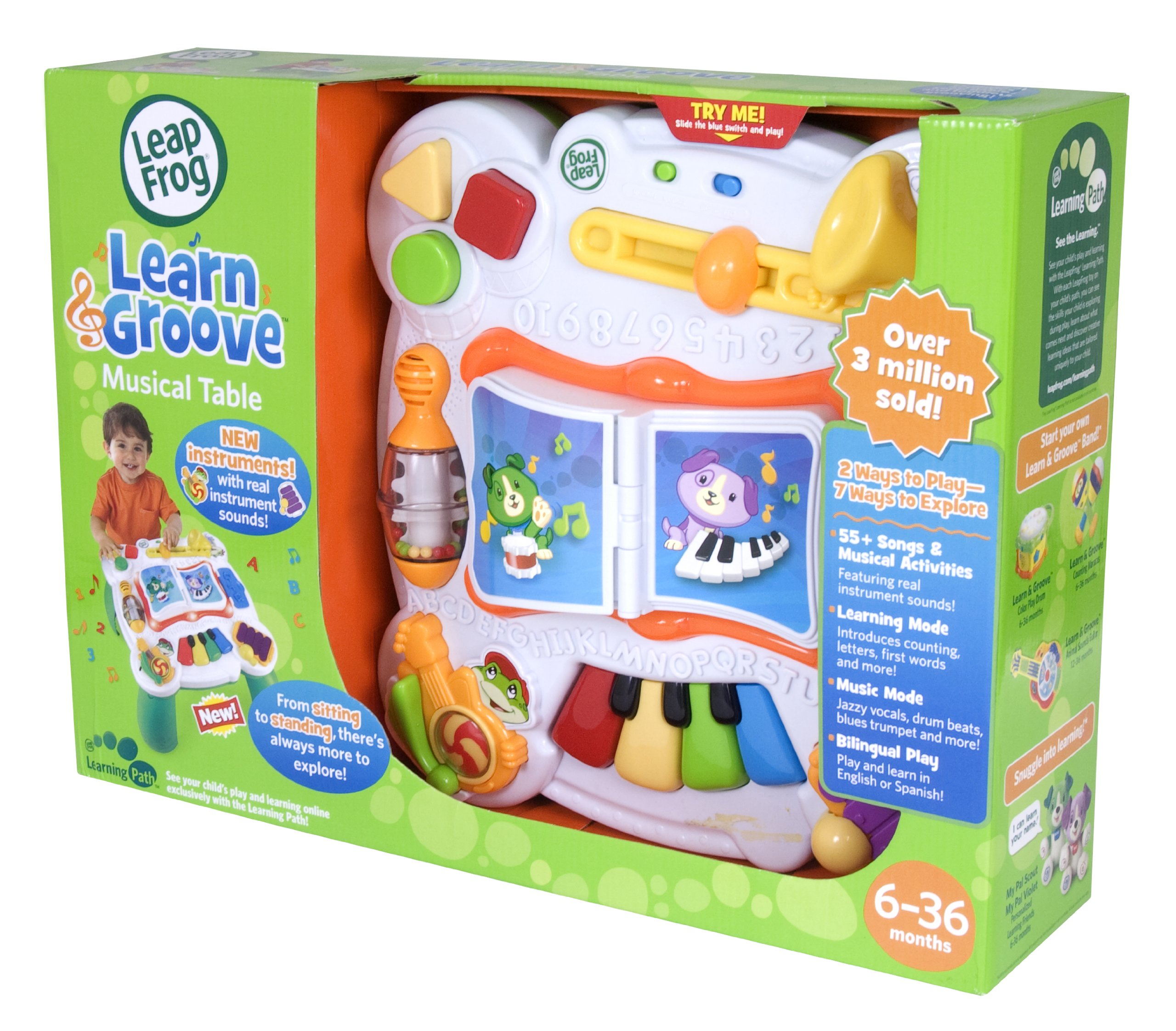 LeapFrog Learn & Groove Musical Table by LeapFrog (Image #4)