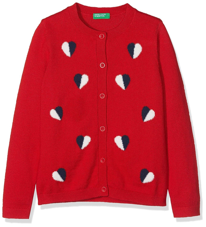 United Colors of Benetton L/S Sweater, Felpa Bambina 10F4C5341