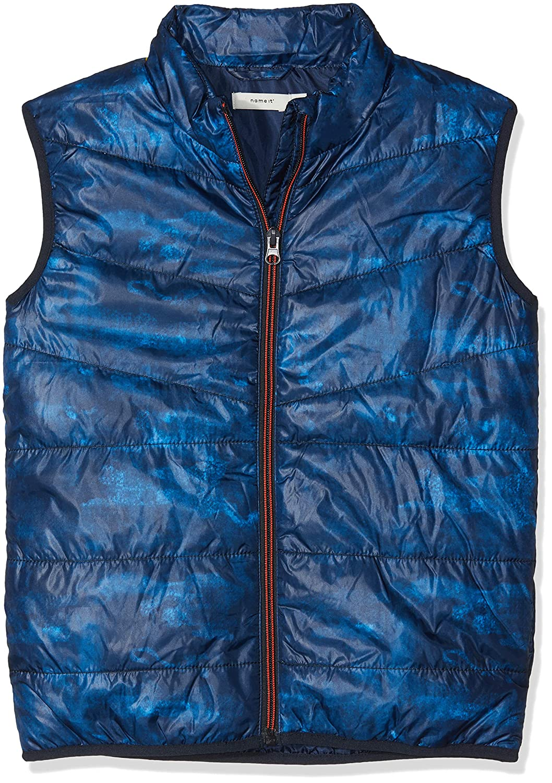 Name It Boy's Nkmmylane AOP Vest Gilet 13156215