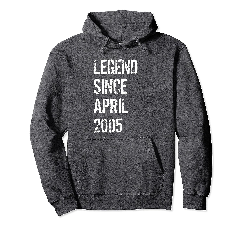 13th Birthday Gift Hoodie for Boys & Girls Born April 2005-TH