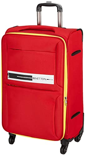[Apply coupon] United Colors of Benetton Polyester 60 cms Red Softsided Check-in Luggage (0IP6EAS24F01I)