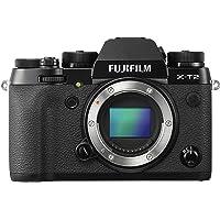 Fujifilm X-T2-24.3 MP Mirrorless Digital Camera Body Only, Black