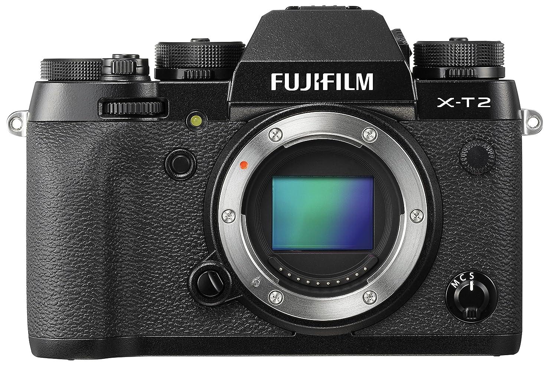 Fujifilm X-T2 - Cámara sin espejo de óptica intercambiable de 24,3 MP (pantalla LCD de 3