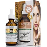 Advanced Clinicals Turmeric Oil for face. Antioxidant formula with Rose Extract and Jojoba oil for dry skin, redness, and ski