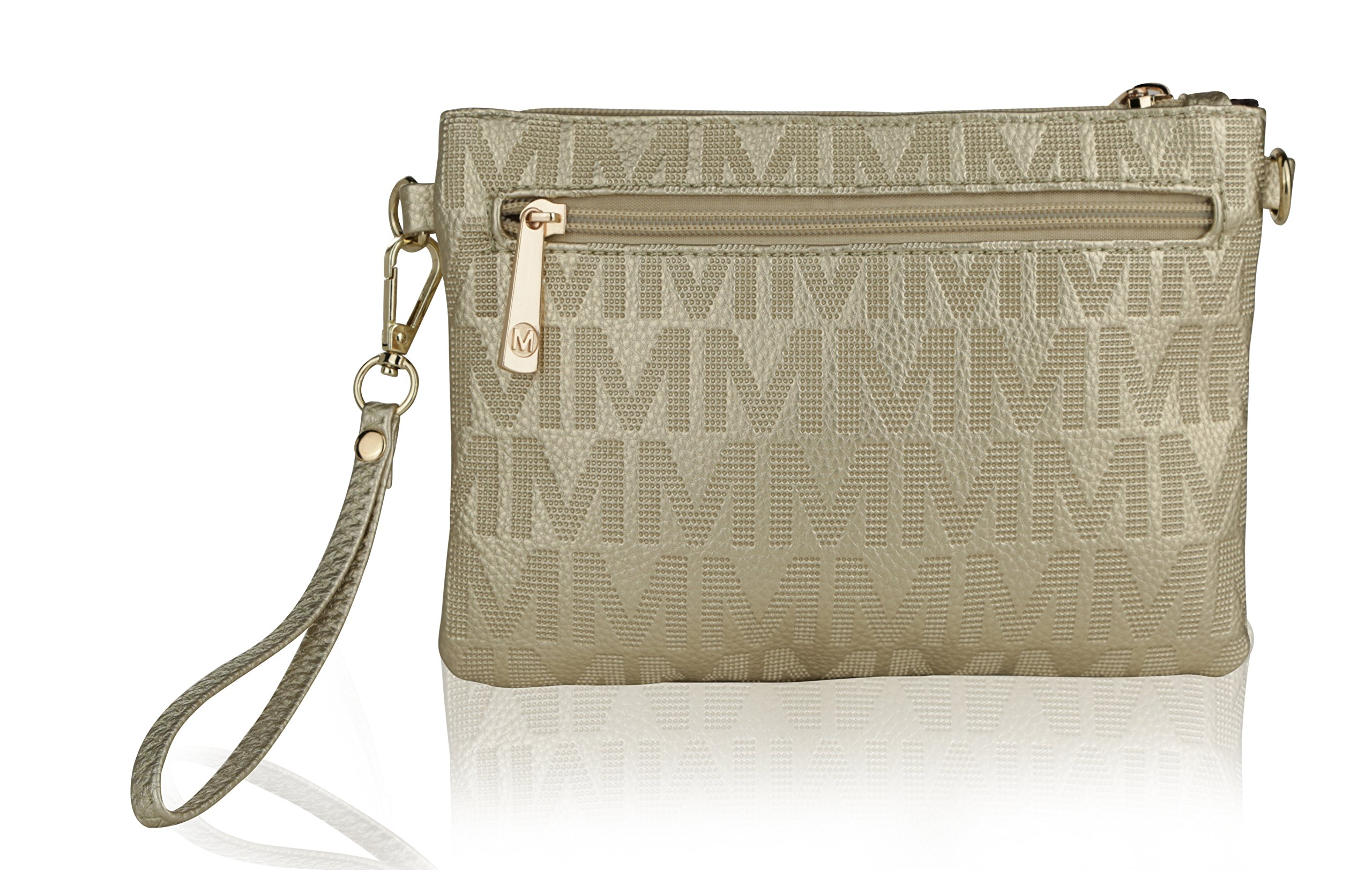 Wristlet | 2-in-1 Crossbody Bags for Women | MKF Collection Roonie Milan Signature Design by MKF Collection (Image #6)