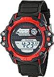 Armitron Sport Men's 40/8311RED Red Cased Digital Chronograph Black Resin Strap Watch