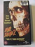 Evil Dead 2 [VHS]