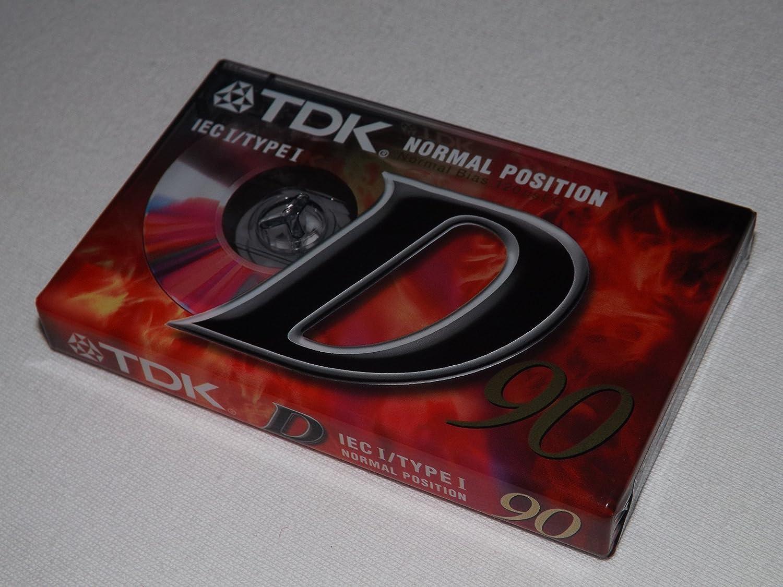 TDK ieci//Typ I D90/Dynamic NEU VERSIEGELT blanko Kassette Tape