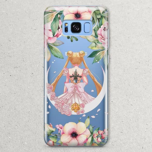 lowest price 51eea b7def S9 S8 S7 Anime Case Sailor Moon for Samsung Galaxy S9 S8 Plus Note 8 5 S7  S6 Edge Plus S5 Case Cosplay art Cell Phone costume t-shirt fandom print ...