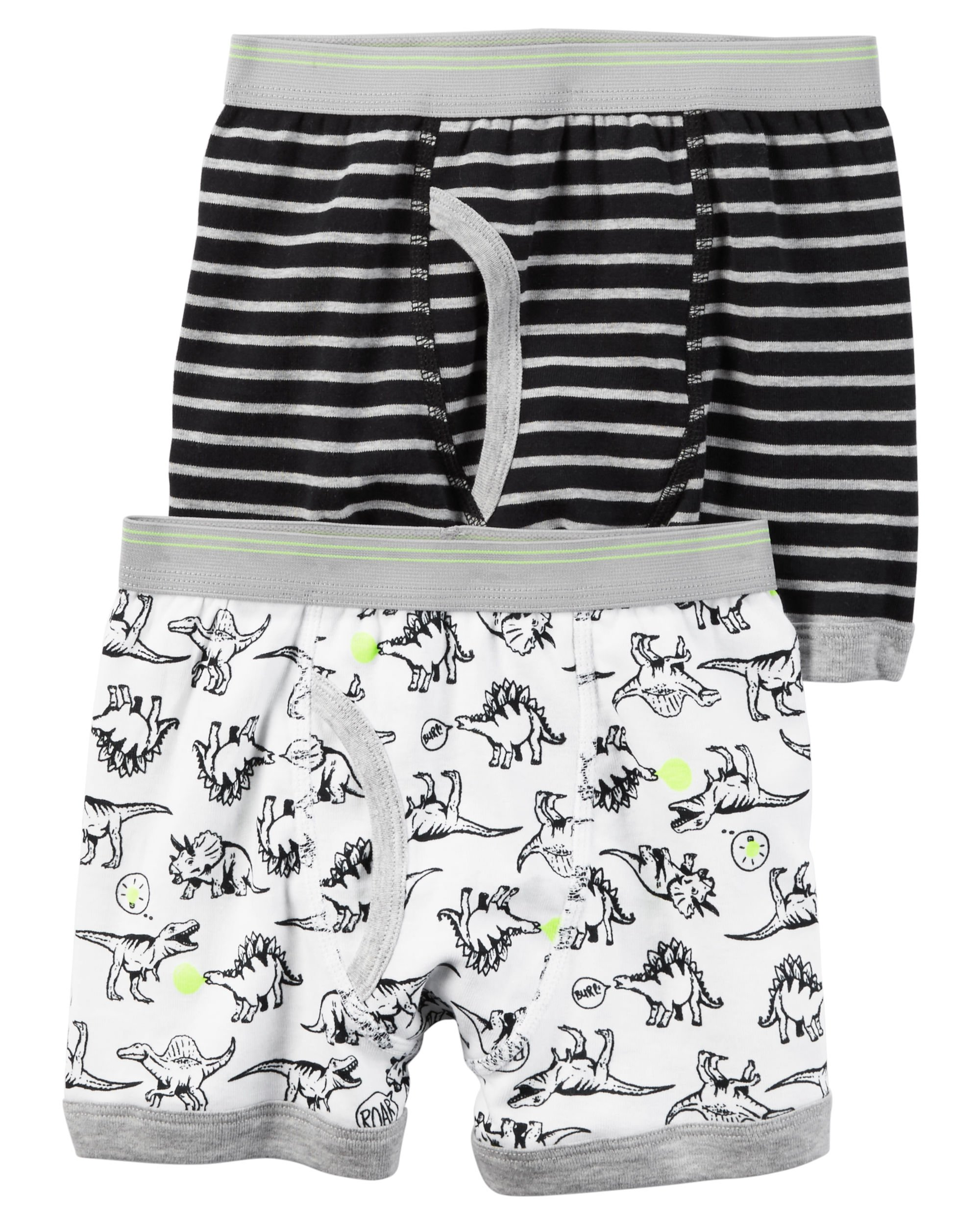 2 Pack Carters Boys Boxer Brief