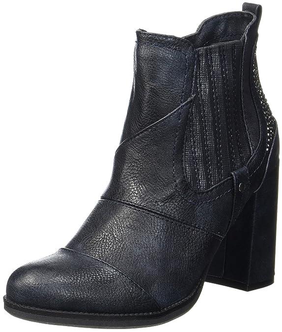 Mustang 1251-501-820, Bottes Femme  Amazon.fr  Chaussures et Sacs 2294a3e612f6